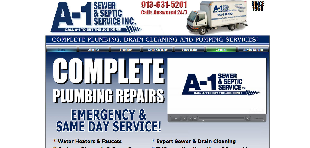 media id biz home pages service plumbing facebook